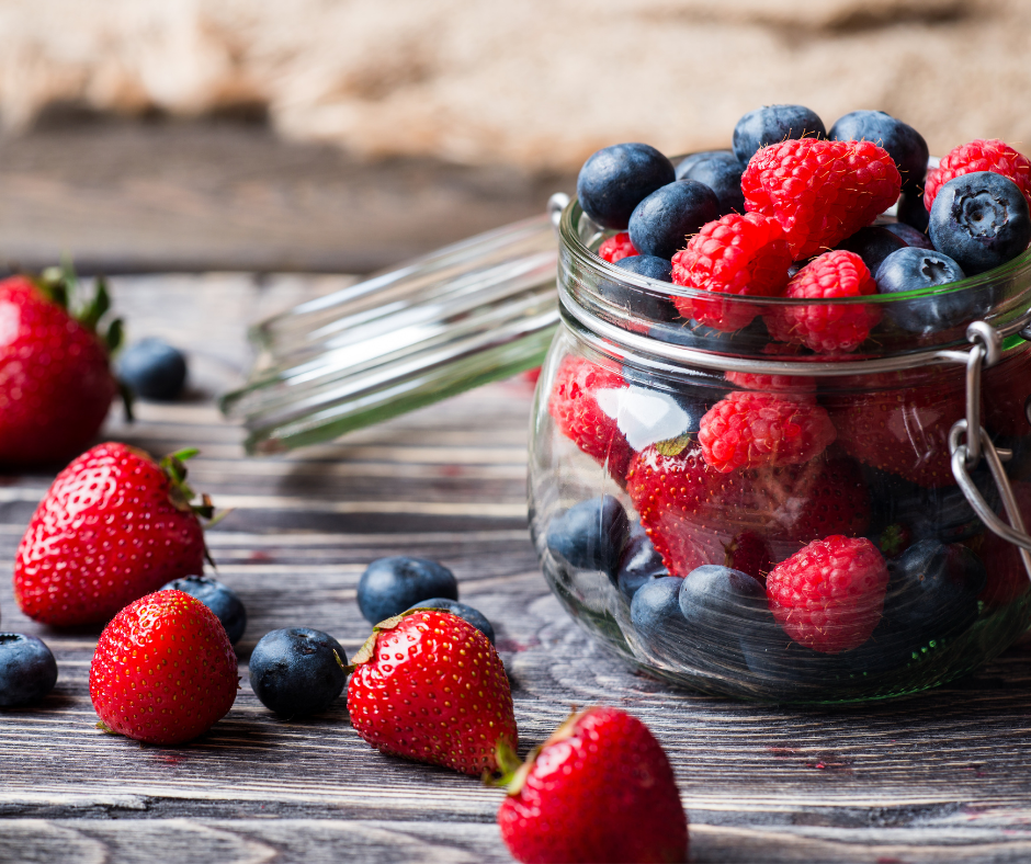 Mixed Berries = Food for Healthy Skin