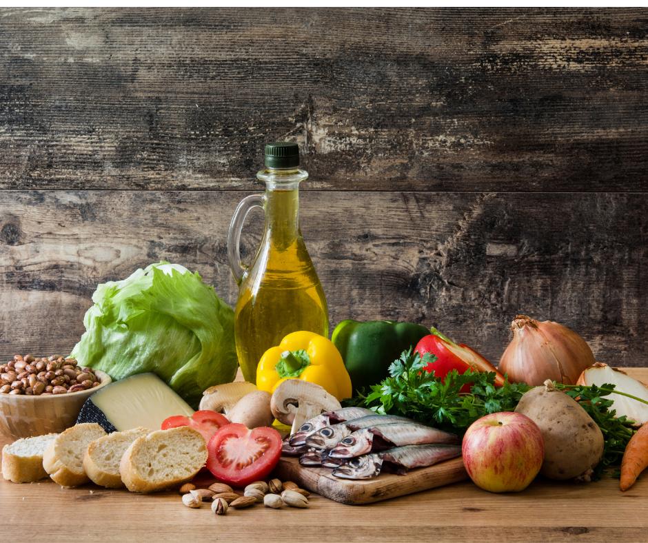 Image of Mediterranean Diet provides wonderful anti-inflammatory benefits.