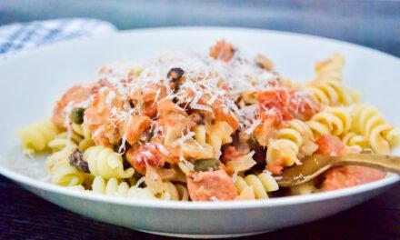 Salmon Pasta: My Favorite Recipe My Mom Makes