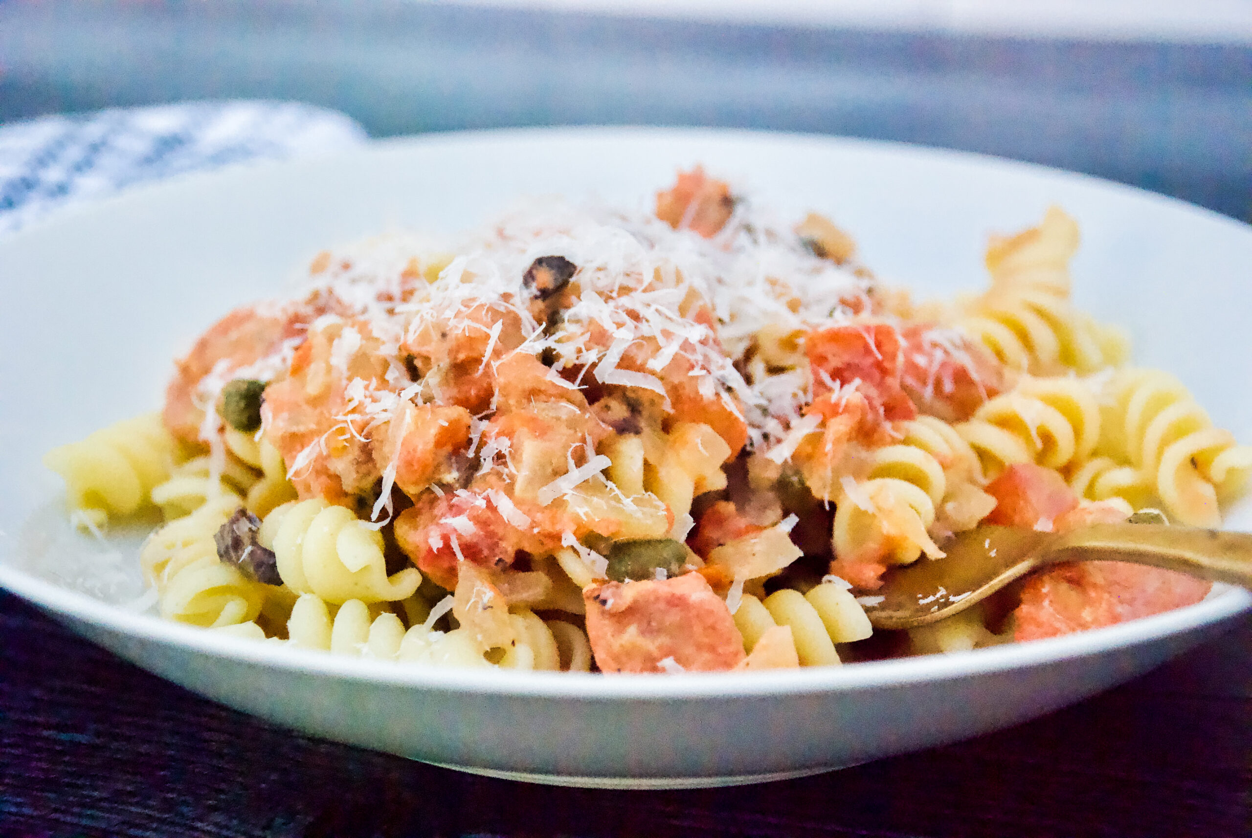 Salmon Pasta: My Mom's Recipe is An All-Time Favorite